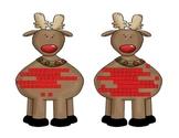 Reindeer DAZE Christmas Math Centers