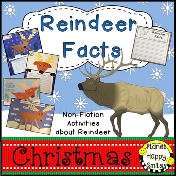 Reindeer Facts Activities ~ Non-fiction Fun!