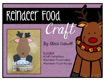 Reindeer Food Craft