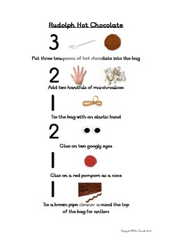 Reindeer Hot Chocolate Instructions