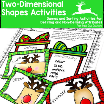 Christmas Math Activities {Reindeer Themed }