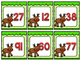 Reindeer Place Value Memory Match
