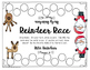 Reindeer Race- Identifying Verbs and Verb Tenses Game or H