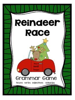 Reindeer Race: Reviewing Parts of Speech