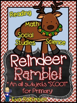 Reindeer Ramble-  An ALL subjects SCOOT for Primary!