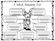 Reindeer Research Writing & Art Activity