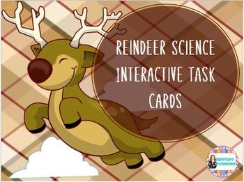 Reindeer Science Interactive Task Cards