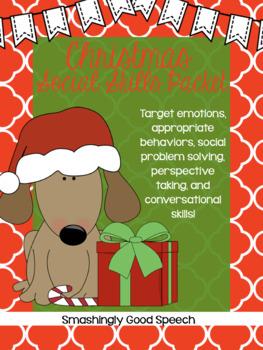 Reindeer Social Scenario Sort/Pragmatic Activity