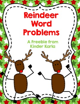 Reindeer Word Problems