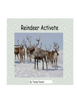 Reindeer activote flipchart