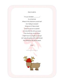 Reindeer hiding game