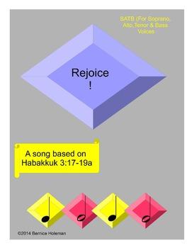 Rejoice!  (A song based on Habakkuk 3:17-19a)