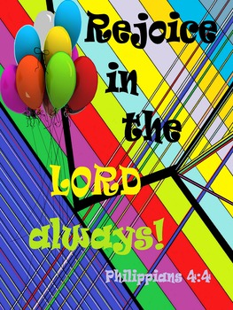 Rejoice in the Lord Always (poster)