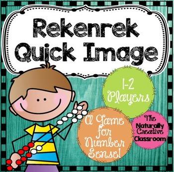 Rekenrek Game:  Quick Images