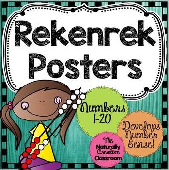 Rekenrek Posters