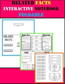 Related Facts & Number Bonds Foldable