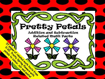 """Related Math Facts """"Pretty Petals"""""""