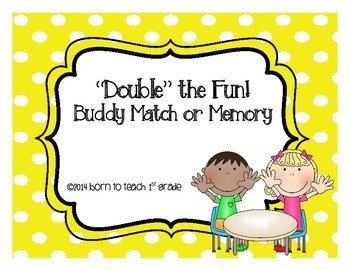 Related Subtraction Doubles Facts Matching or Memory