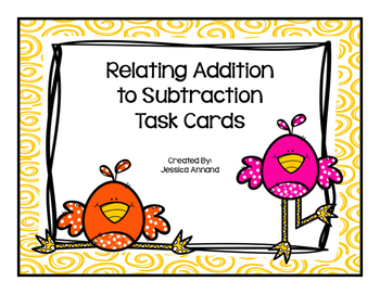 Relating Addition and Subtraction Gallery Walk