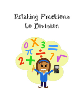 Relating Fractions to Division (Word Problems)