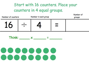 Relating Multiplication and Division Smartboard and Practi
