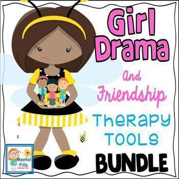 Girl Drama and Friendship Therapy Tools BUNDLE