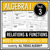 Relations and Functions (Algebra 1)