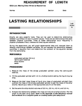 Relationship Among Quantities