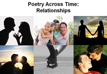 Relationships Poetry Unit - 15 Poems, 28 Lessons, PPT, Res