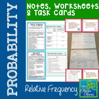 Probability - Relative Frequency (Experimental Probability)
