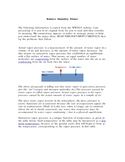 Relative Humidity Primer
