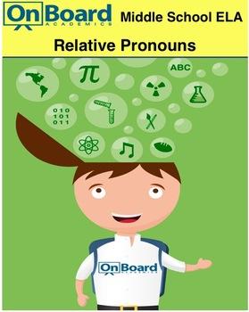 Relative Pronouns-Interactive Lesson