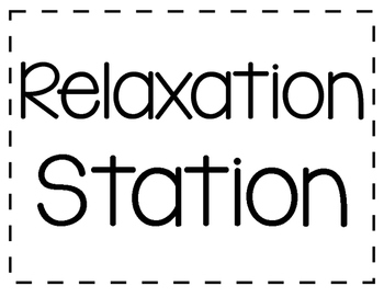 *FREEBIE* Relaxation Station Kit