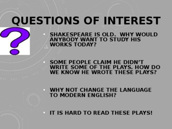 Relevance of Shakespeare