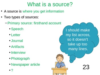 Reliable and Relevant Sources - Research - Middle Grades
