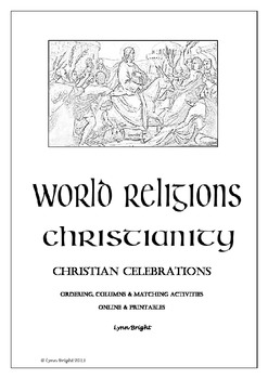 World Religion Christian Celebrations Quiz Activities Prin