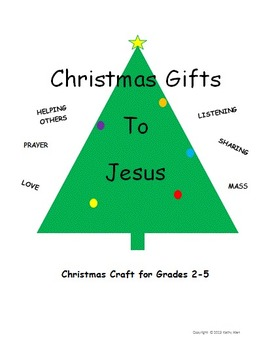 A Christmas Giving Craft For Jesus