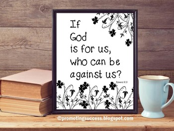 Religion Education Motivational Christian Quote Poster Hom
