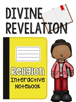 Religion Interactive Notebook: Divine Revelation
