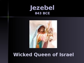 Religion - Enemies of God in the Old Testament - Jezebel