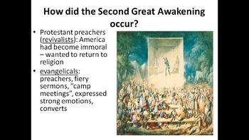 US History Unit 1.3 - Religion & Reform Movements PowerPoi