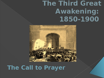 Religion in the United States - The Third Great Awakening