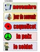 Remembrance Day/ Memorial Day Activities in FRENCH-Great f