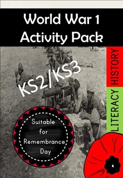 Veterans Day and World War I Literacy Pack
