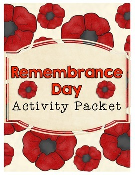 Remembrance Day Activity Packet