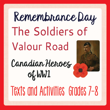 Remembrance Day Canadian History The Soldiers of Valour Ro