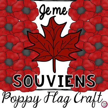 Remembrance Day Poppy Flag Craft and Printables