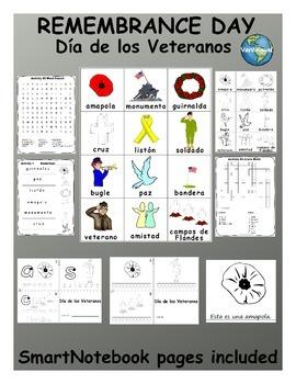 Remembrance Day / Veteran's Day / Día de los Veteranos  SPANISH