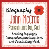 Remembrance Day John McCrae