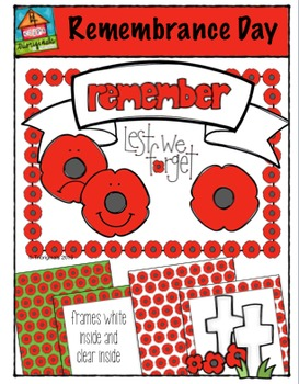 Remembrance Day {P4 Clips Trioriginals Digital Clip Art}